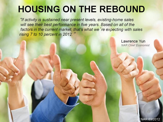 Housing on the Rebound